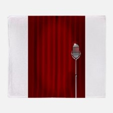 Stand Up Night Curtain Throw Blanket