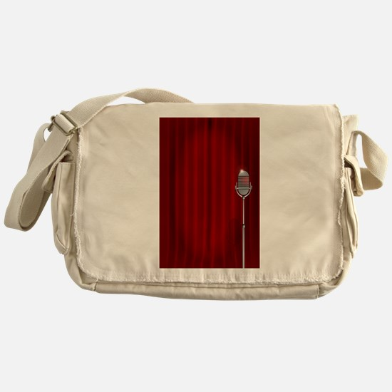 Stand Up Night Curtain Messenger Bag