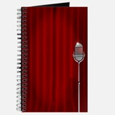 Stand Up Night Curtain Journal