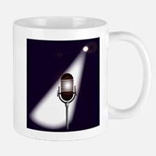 Retro Microphone Mugs