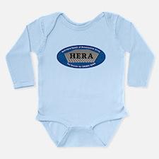 HERA Logo Long Sleeve Infant Bodysuit