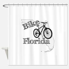 Bike Florida Shower Curtain