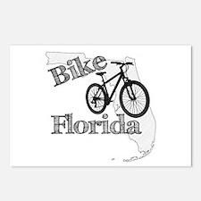 Bike Florida Postcards (Package of 8)