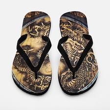 Cute Dragon prints Flip Flops