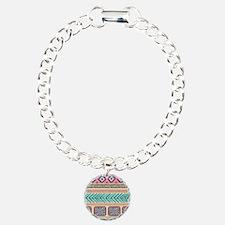 Tribal Pattern Bracelet