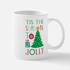 modern whimsical Christmas tree Mugs
