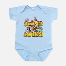 America Rocks Infant Bodysuit