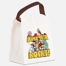America Rocks Canvas Lunch Bag