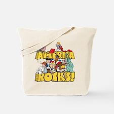 America Rocks Tote Bag