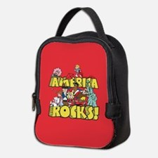 America Rocks Neoprene Lunch Bag