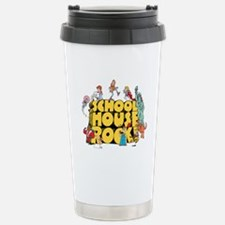 Schoolhouse Rock Stainless Steel Travel Mug