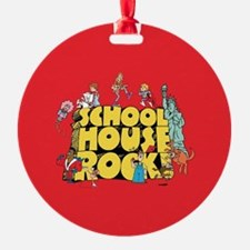 Schoolhouse Rock Ornament