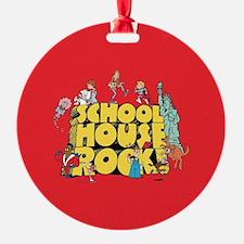 Schoolhouse Rock Round Ornament