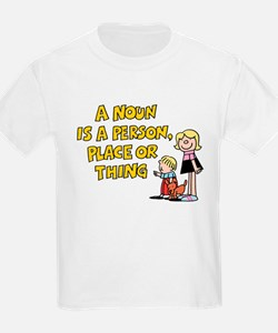 Noun, Person, Place, Thing T-Shirt