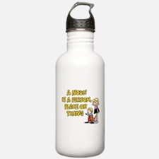 Noun, Person, Place, T Sports Water Bottle