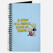 Noun, Person, Place, Thing Journal