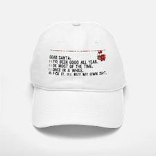 Dear Santa..adult humor Baseball Baseball Cap