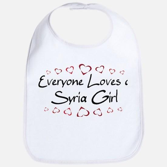 Syria Girl Bib