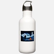Surreal Cow Abduction Water Bottle
