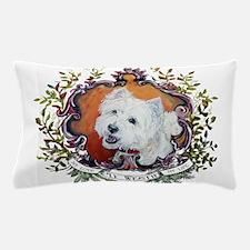 West Highland White Terrier Portrait Pillow Case