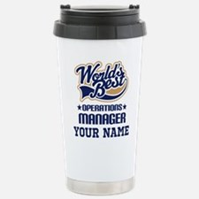 Operations Manager Personalized Gift Travel Mug
