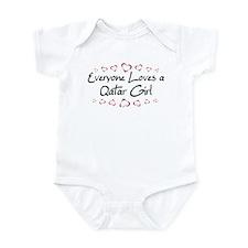 Qatar Girl Infant Bodysuit