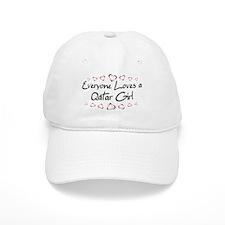 Qatar Girl Baseball Cap
