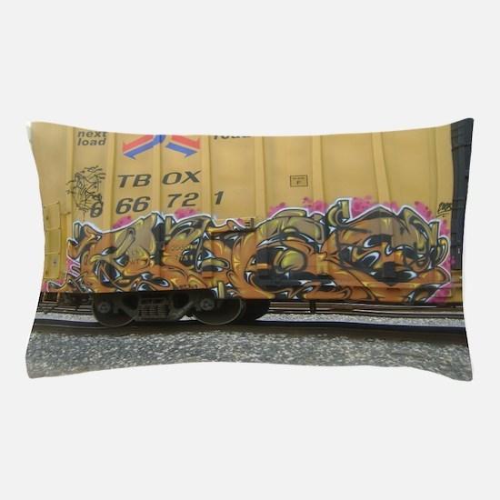 train art Pillow Case