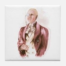 Lord Peter Wimsey Tile Coaster
