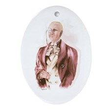 Lord Peter Wimsey Oval Ornament