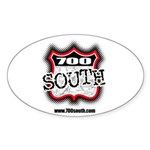 700 South Oval Sticker