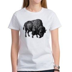 Bison Bull Women's T-Shirt