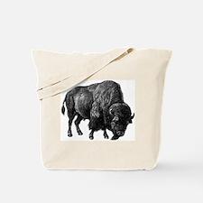 Bison Bull Tote Bag