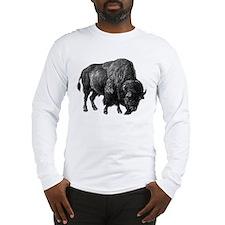 Bison Bull Long Sleeve T-Shirt