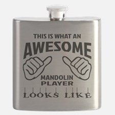 This is what an awesome mandolin player look Flask