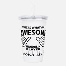 This is what an awesom Acrylic Double-wall Tumbler