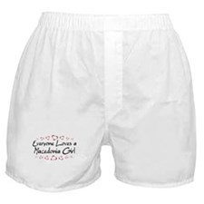 Macedonia Girl Boxer Shorts