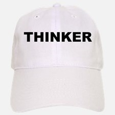 Thinker Baseball Baseball Cap