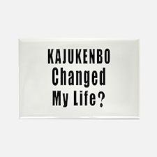 Kajukenbo Changed My Life ? Rectangle Magnet