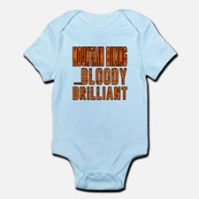 Mountain Biking Bloody Brilliant D Infant Bodysuit