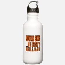 Mountain Biking Bloody Water Bottle