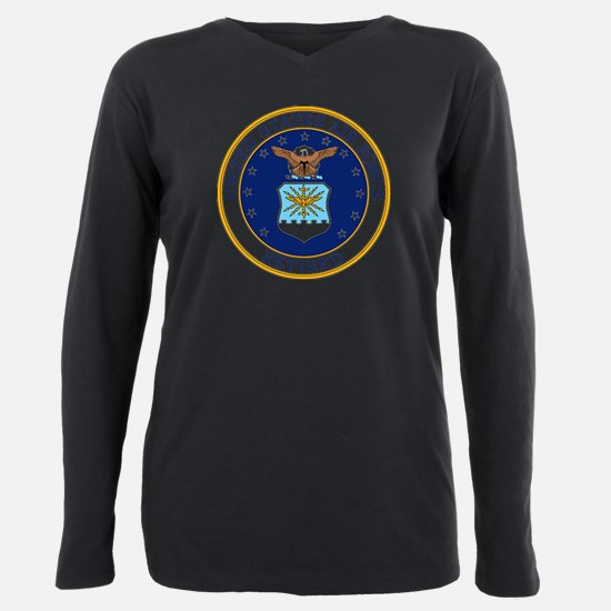 Cute Military rank insignia Plus Size Long Sleeve Tee