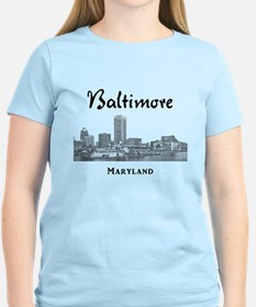 baltimore inner harbor t shirts shirts tees custom