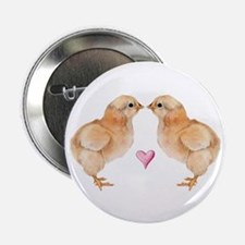"""Baby Chick Love 2.25"""" Button"""