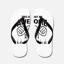 This is what an awesome Double Bass pla Flip Flops