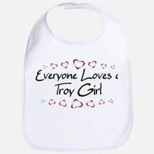Troy Girl Bib
