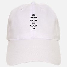 KEEP CALM AND COOK ON Baseball Baseball Baseball Cap