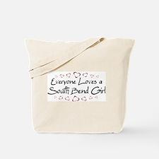 South Bend Girl Tote Bag