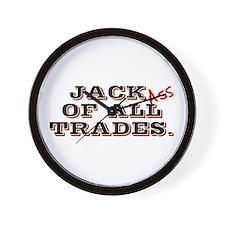 Funny Jack trades Wall Clock