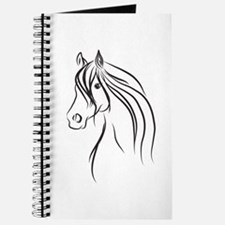 Illustration of a horse Journal